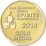 Blind Tiger Gin - San Francisco World Spirits Competition 2018 - Gold Medal Winner
